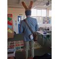 Peter Rabbit's tail!