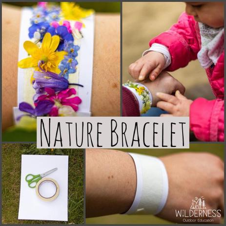 Use sellotape and collect tiny things on your walk