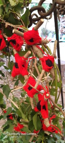 Poppies made for Remembrance Day