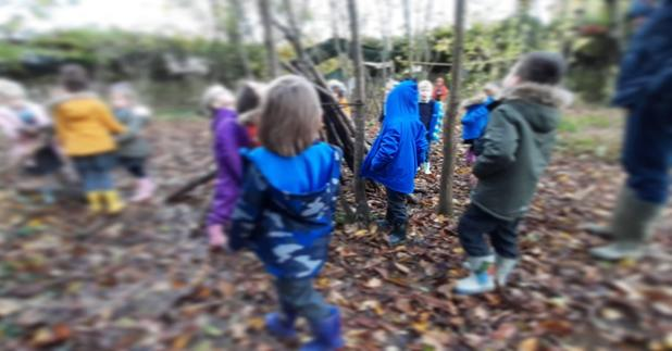 EYFS start their first sessions