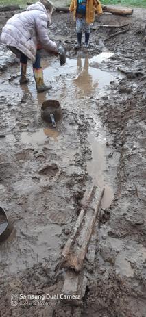 Water = mud