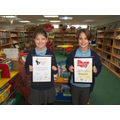 Erin and Lilia collect data for Buster each week