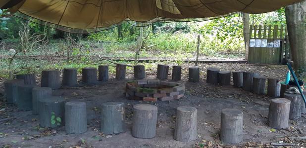 Mud Kitchen Basecamp.