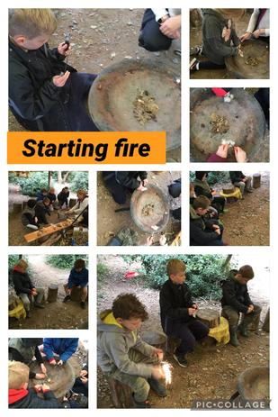 Year 3 learned how to make a spark