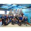 Beech class with Santa!