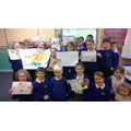Poplar class made posters to mark the occasion.