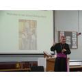 Bishop Mark came to visit us on 17.1.18.