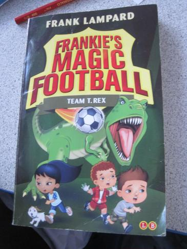 And fiction football books too!