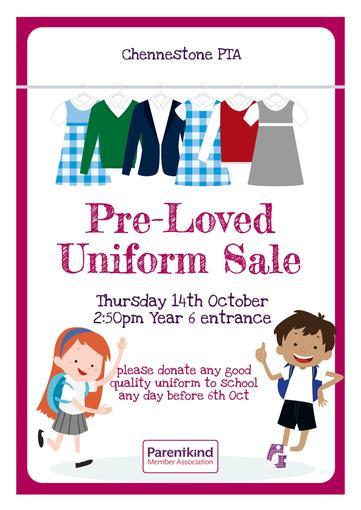 Pre-Loved Uniform Sale - Thursday 14 October 2021