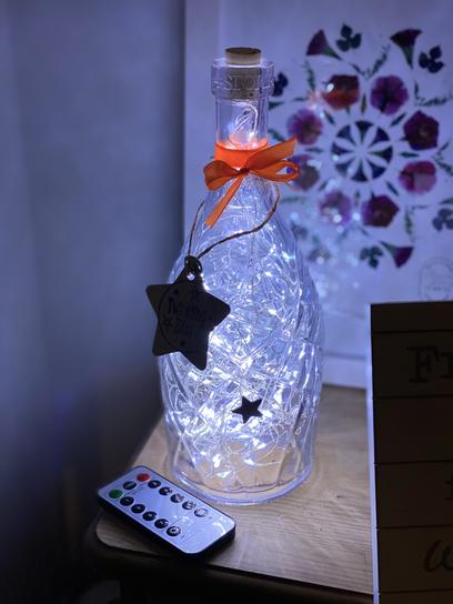 Twinkling Bliss Fairy Light Bottle