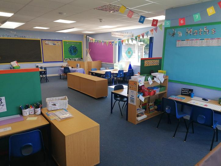 This is Sapphire classroom, there are lots of fun areas to explore!.