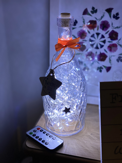 Astoria Fairy Light Bottle