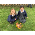 Creating natural sculptures inspired by Andy Goldsworthy