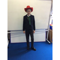 Year 5 had a fashion show