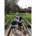 Squirrel Class off to the rec