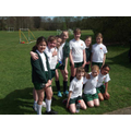 Owl Class girls at a football tournament