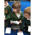 reading the response letter from Jack, Gingerbread Man, Goldilocks