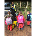 listening at the forest school