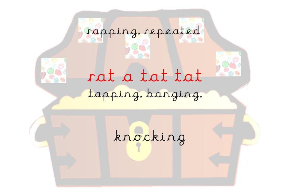 Treasure Chest Rat a Tat Tat