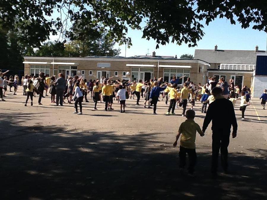 Cool down time whole school