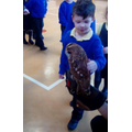 This owl was called Topaz