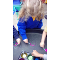 Colour Mixing and Mark Making