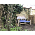 Story bench - pallets