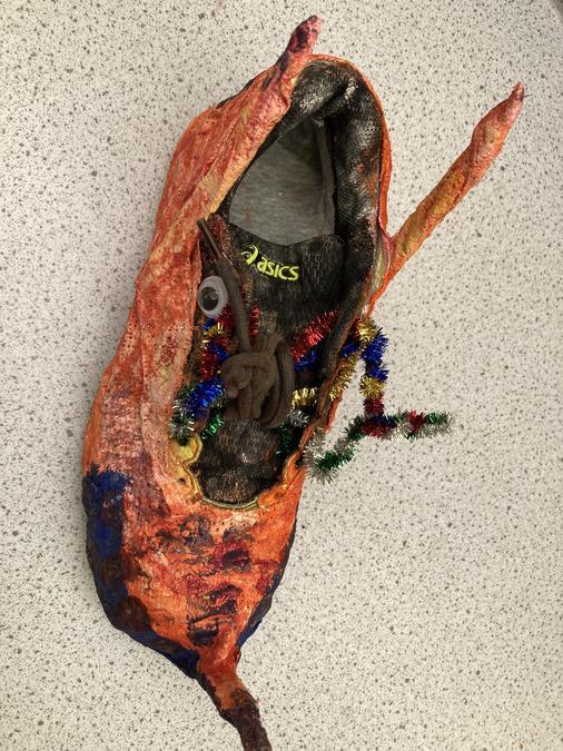 Year 4 - shoe art