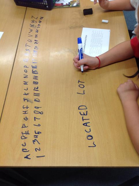 In Computing, we have been cracking codes to work out secret messages.