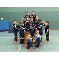 Overall School winners for Essex Floor and Vault