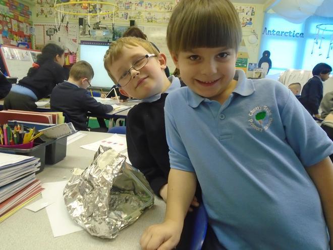 Our foil tent
