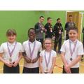 District Badminton SILVER