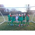 Cherry Tree girl's football team