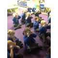 We have been learning some animal yoga!