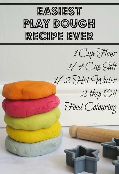 This is the playdough recipe we use in school!