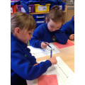 We've been practising our number work this week.