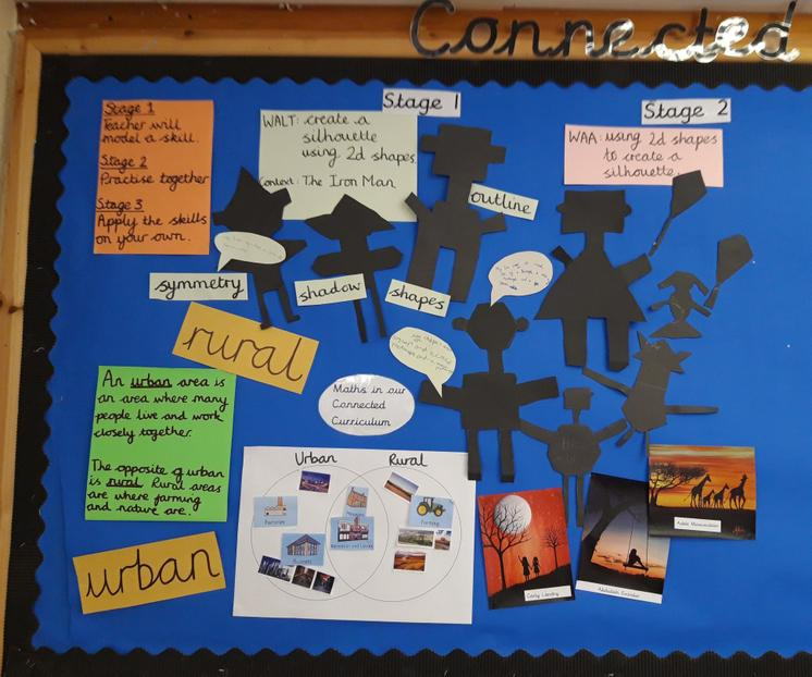 We have started Stage 1 and 2 of our Connected Curriculum.