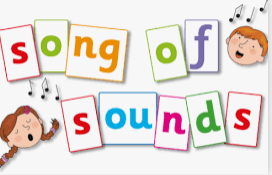 We use the Song of Sounds Phonics scheme to teach letter sounds at Cherry Tree.