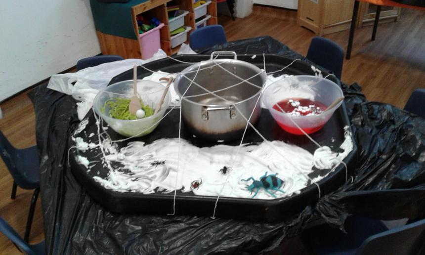 Willows Witches cauldron activities( spell making)