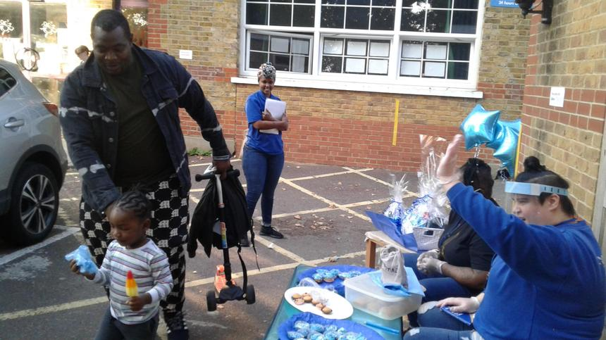 Cake sale to raise money for Jeans for Genes