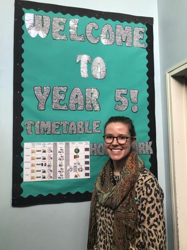 Miss Rose - Year 5 Class Teacher