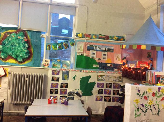 We have loved learning about Islands from the Scottish Isles to the Galapagos!