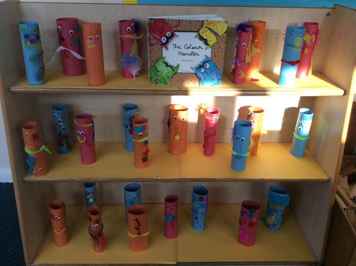 Nursery's Colour Monsters