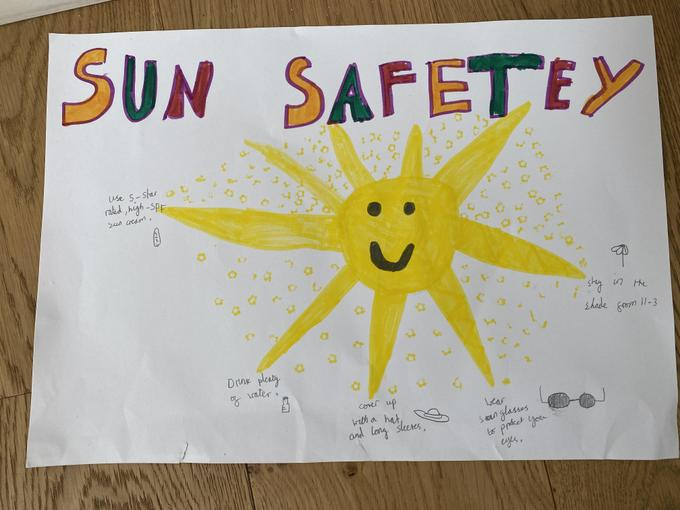 Scientists reminding us to stay safe in the sun!