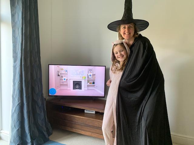 A very spooky Fancy Dress Friday!