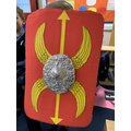 Soraya's Roman shield