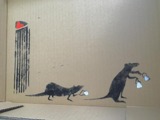 Aoife: Rats taking masks from bins to stay safe