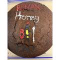 Charlie B's Roman Honey cake