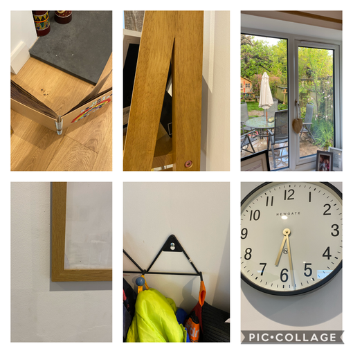What angles have I found in my house?