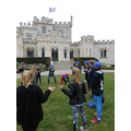 Meeting french friends at the Chateau d'Hardelot